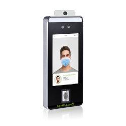 (FacePro5-TD) mesure la température corporelle de reconnaissance faciale de la porte du système de contrôle d'accès avec détecteur de température