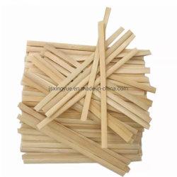 Bois de Bambou biodégradable jetable/Stir Café Stick, pour les boissons