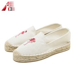 高品質の快適なジュートの厚さの唯一の女性のズック靴2020の新しい方法偶然靴
