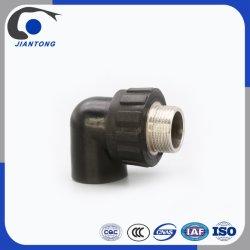 La Chine du raccord de tuyau en plastique de gros en PEHD Coude filetée mâle avec la résistance thermique léger