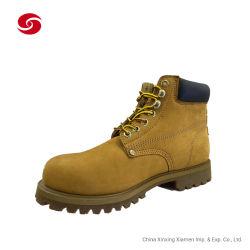 Светло-коричневого функциональных против скольжения стальной Toe Маслостойкий Обувь ботинки