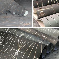 Luxe mur Non-Woven papier 3D géométrique de papier peint pour la décoration d'accueil