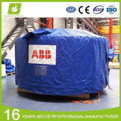 Китай лучшая цена поставщика водонепроницаемый B1 негорючий материал холст плотный брезент брезент ПВХ крышку поддона