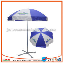 Настраиваемый логотип печать прямо на улице с УФ защитой ТЕБЯ ОТ ВЕТРА поощрения рекламы солнечные зонты из расчета Sun Beach зонтик