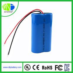 Ce/RoHS/UL/kc/38.3 de l'ONU approuvé rechargeable Li-ion 18650 7.4V 2600mAh Batterie lithium-ion