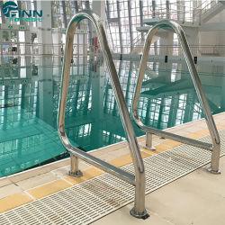 安い価格のステンレス鋼のプールのステップ梯子の手すり
