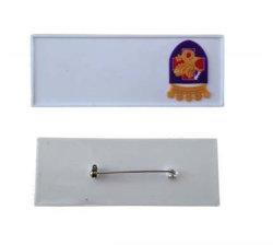 Прямоугольник формы предохранительный палец ПВХ бэйдж/пластиковых пропусков/кремния (YB-p-030)