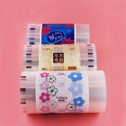 チィッシュペーパーのためのグラビア印刷によって印刷されるPE/CPPの自動包装のフィルム