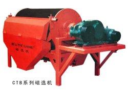 Laboratorio de fábrica de hematita de minería de oro Ctbpermanent separador magnético