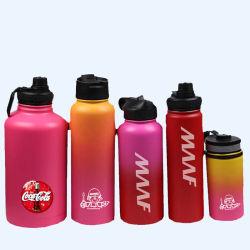 Leck-Beweis-Energie, die breiter Mund-Thermo hydroflaschen-Kolben beschichtet
