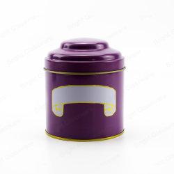 Custom круглый Тин металлическую коробку для шоколада Cookie для приготовления чая и кофе подарочной упаковки