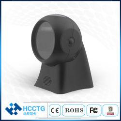 USB/RS232 de imagem CMOS 1d 2D Desktop Leitor de código de barras (SH-7302)