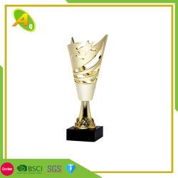 Premio premiato poco costoso su ordinazione del trofeo della tazza di mondo del ferro del metallo del regalo promozionale della decorazione (022)