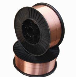 Draht-Schweißens-Elektroden heißes des Verkaufs-Legierungs-Kupfer-überzogene Schweißens-Er70s-6