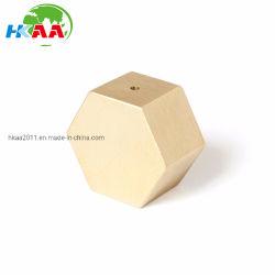 Fraisage CNC personnalisé Encens hexagonale en laiton solide Burner