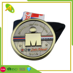 De het eenvoudige Goud van het Ontwerp/Ambacht van de Medaille van de Toekenning van de Gymnastiek van het Metaal van het Zilver/van het Koper voor Bevordering (202)