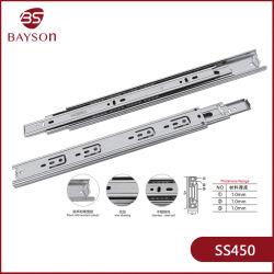 스테인리스 스틸 SUS 201 또는 304 45mm 서랍 슬라이드 채널