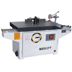 Modellatore di legno dello Shaper dell'asse di rotazione di falegnameria di Mx5117t con la Tabella di scivolamento