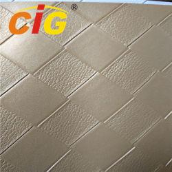 Couro sintético de PVC impermeável