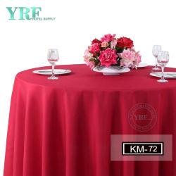 La broderie bleu marine Rose Chiffon de la Table ronde de mariage