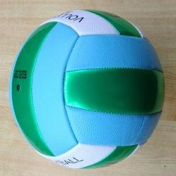 Standardgröße Vollyball Großhandelsvolleyball-Zoll gedruckter Größe 5 Belüftung-Volleyball für Förderung