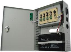 La batterie de secours 4CH 27.6V60w Le contrôle des accès Unité d'alimentation de l'ONDULEUR Chargeur de batterie avec ce certificat de FAC