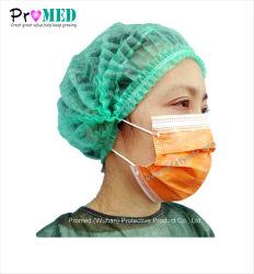 Earloop chirurgischer Sicherheits-weicher Mund-chirurgische Schablone der Krankenhaus-schützender Zahnarzt-medizinischer Lokalisierungs-Staub-aktiver Kohlenstoff-Gaze-pp., nichtgewebte Wegwerfgesichtsmaske