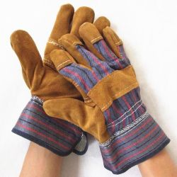 """14"""" кожаные перчатки, защитные перчатки для мужчин в Гуанчжоу"""
