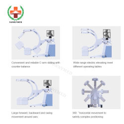 Sy-D033f Orthopédie Chirurgie C-Arm à écran plat machine à rayons X