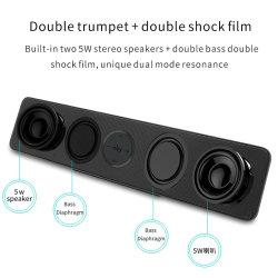 La barra de sonido inalámbrico nde-5530 altavoces estéreo de Tws Bluetooths verdadero 2019 Gadgets electrónicos Accesorios