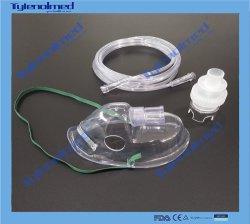 Médicos desechables Mascarilla PVC Nebulizador Kit con aerosol