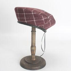 La Chine fournisseur Fashion British vérifié peintre coton Beret Cap Hat
