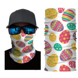 Guaina senza giunte elastica multifunzionale Headwear Hairband del collo del Bandana del fronte del regalo di festa di Pasqua