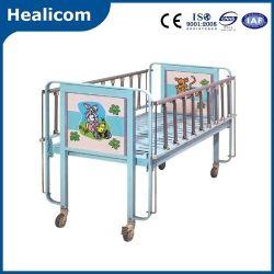 医学の赤ん坊の心配の家具の小児病院のベッドの手動子供の漫画のベッド