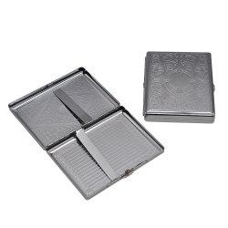 Pocket de estaño metálico Caja de almacenamiento de los cigarrillos de tabaco con 70mm soporte de documentos
