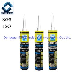 Alto Ponto Alto Stickness Prego Líquido de silicone para madeira