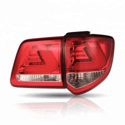 مصابيح LED عالية القدرة تعمل على القيادة السيارات العمل السيارات المؤخرة أضواء سيارات خفيفة لموالف تويوتا 2012-2016