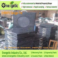 Черный цвет Anti-Impact UHMWPE жесткий Utility погрузчик Outrigger панель/чистого материала Outrigger колодок/различных цветовых UHMWPE крана Outrigger колодок/UHMWPE/HDPE разъем блока/Cr