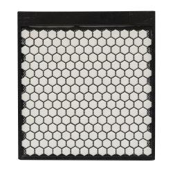 300x300 couleur noir et blanc pour la cuisine salle de tuiles de mosaïque