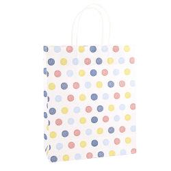 Fashion Jewelry Packaging Paper Bag Own Logo Printing Twist Rope Handvat