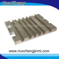 Tuyau en cuivre de haute qualité de base de la plaque de refroidissement par eau