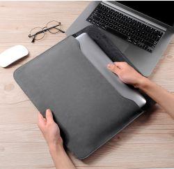 MacBook PRO iPad 태블릿 슬리브용 12/13인치 충격 방지 PU 가죽