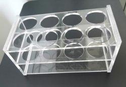 8 puits à usage unique & 96 puits plaque amovible pour tubes de rack
