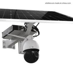 Smart Full Color Night Vision 1080p 4G Security Camera PTZ ساعة شمسية بالتليفزيون مع بطاقة SIM بسعر