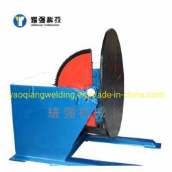 Contactor rotativo 5000kg Posicionador de soldagem Tabela de viragem