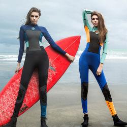 Het Neopreen Wetsuits die van Bodyboarding Lang het Duiken van Kokers Kostuum voor Vrouwen surfen