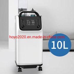 Concentrador de oxigénio de 10 litros China, máquina de centralização de oxigénio