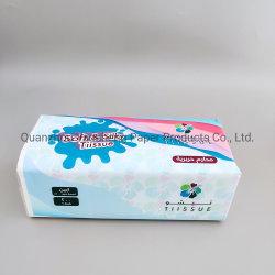 Produzione di carta velina facciale in confezione morbida con etichetta privata di alta qualità