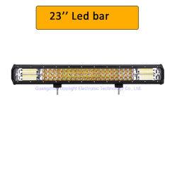 مصباح LED في الطرق الوعرة، تعمل لوحات LED بنظام الدفع الرباعي على إضاءة كهرمانية بيضاء مصباح عمل LED وامض 5 بوصات للسيارة Jeep 4X4 Truck SUV مصباح LED للفلاش المزدوج للسيارة الذي يعمل بنظام تشغيل أضواء الضباب