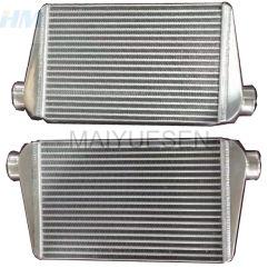 Autoteile Universal Aluminium Frontmontage Black Air Intercooler für Auto, Nachkühler, Hydraulikölkühler, AC-Kondensator, luftgekühlter Ölkühler Wärmetauscher